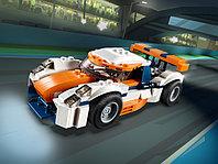 LEGO Creator 31089 Оранжевый гоночный автомобиль, конструктор ЛЕГО