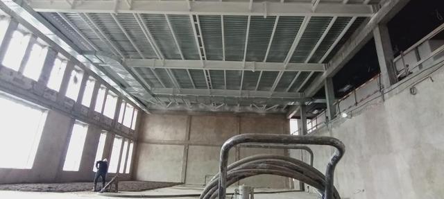 Нанесение огнезащитного покрытия на металлоконструкции строящегося объекта «Болашак сарайы» г.Кокшетау/ 2020г. 2