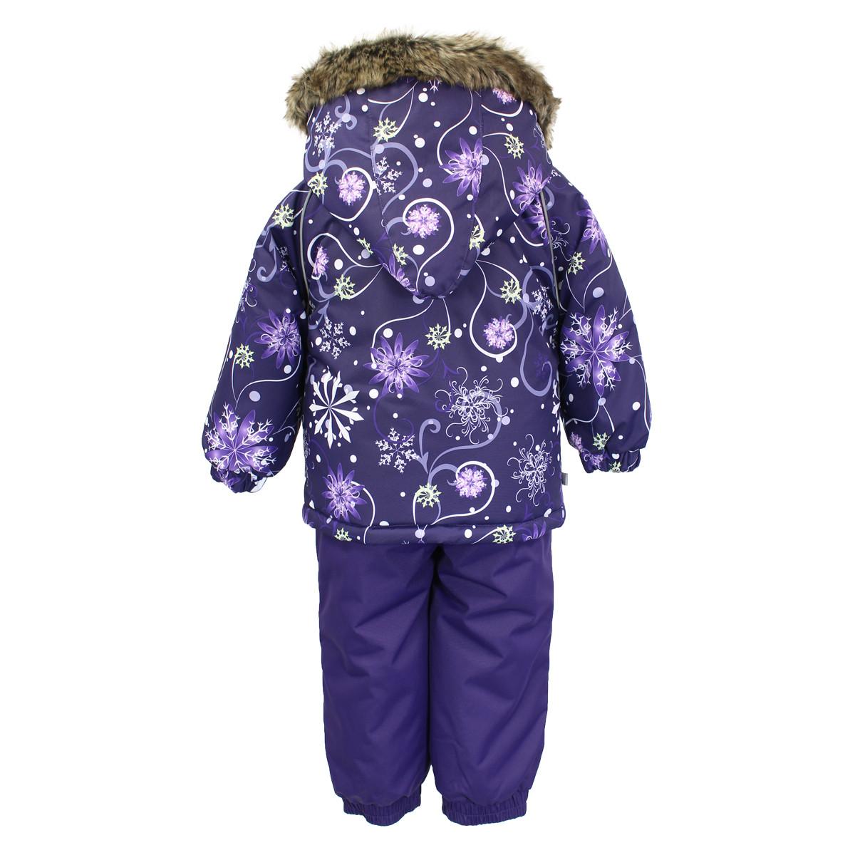 Детский комплект Huppa AVERY, лиловый с принтом/темно-лиловый - 98 - фото 2