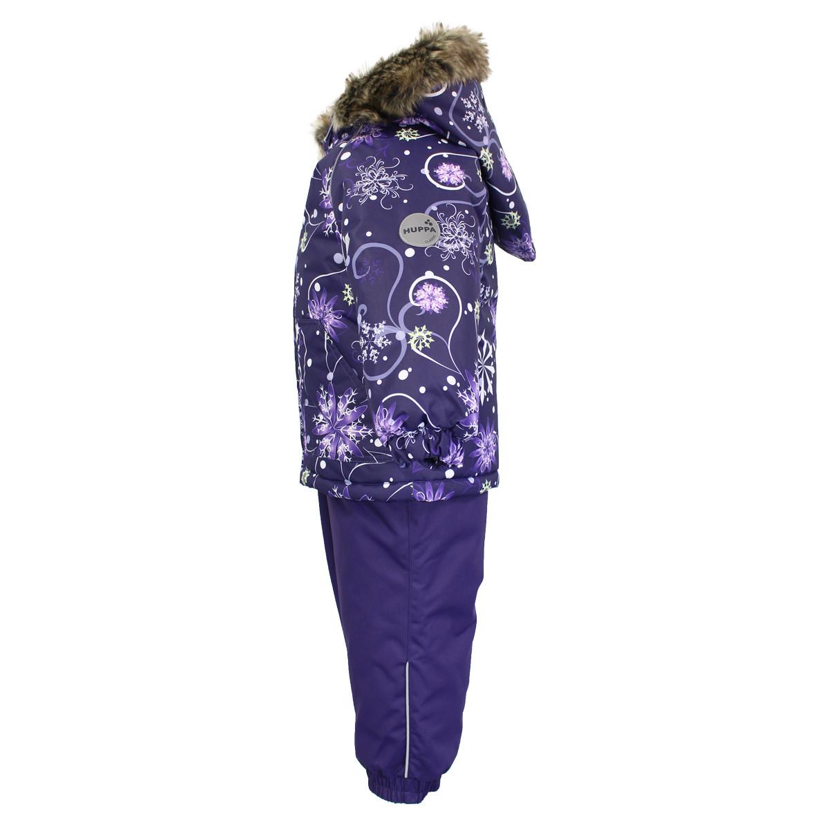 Детский комплект Huppa AVERY, лиловый с принтом/темно-лиловый - 98 - фото 3