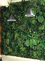 Зеленые стены из искусственных растений