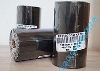 Красящая лента (риббон) WAX 110мм(108)*300м, фото 1