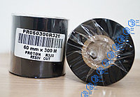 Красящая лента (риббон) Resin 64 (60)мм*300м, фото 1