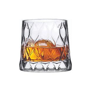 Набор стаканов для виски Pasabahce Leafy 300мл (4шт)