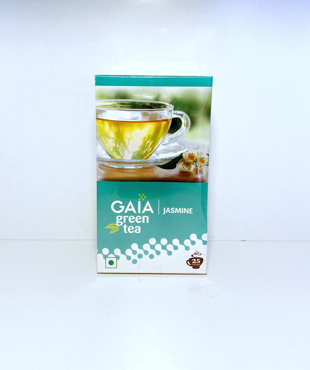 Зеленый чай с Жасмином, 25 пакетиков. Gaia