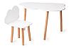 Детский стол + стул Happy Baby OBLAKO белый