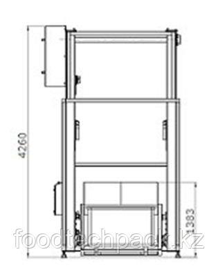 Двухколонный подъёмник-загрузчик сосудов для соляного раствора, 32.2309.2302