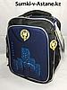 Школьный ранец для мальчика в 1-й класс.Высота 37 см,ширина 27 см, глубина 14 см.