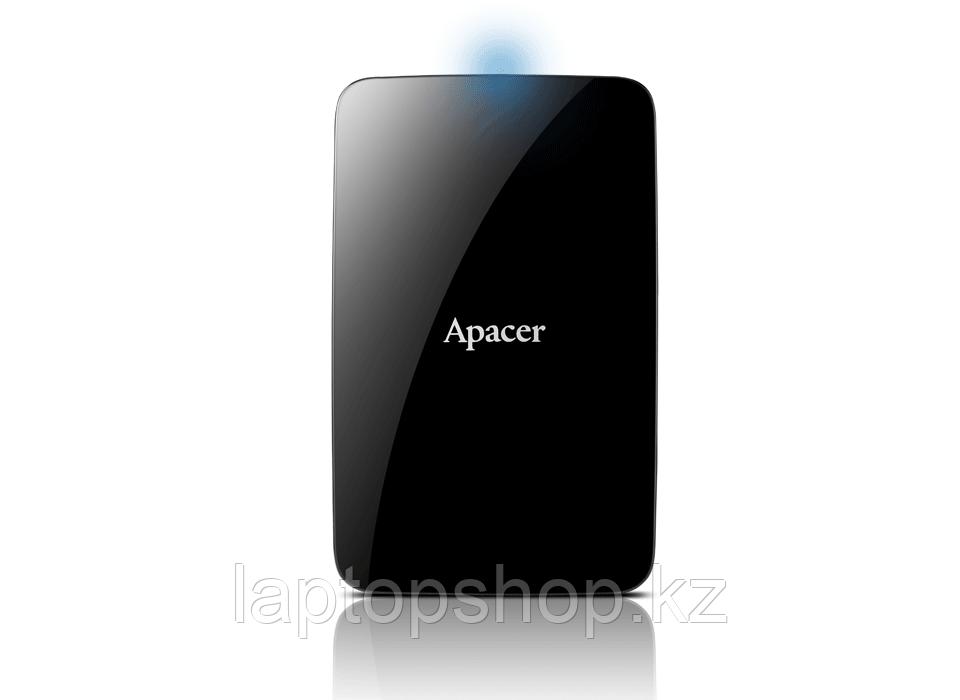 """Внешний жесткий диск 1TB, 2.5"""", Apacer AC233, AP1TBAC233B-S, USB 3.2, Чёрный"""
