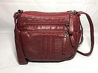 Модная женская сумка через плечо.Высота 18 см, ширина 22 см, глубина 7 см.