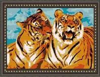 """Схема для вышивания """"Тигриная нежность"""""""