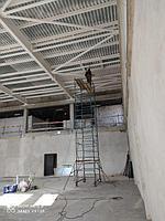 """Огнезащита металлоконструкций в строящемся здании """"Болашак Сарайы"""" г.Кокшетау"""