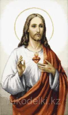 """Набор для вышивания крестом """"Иисус"""""""