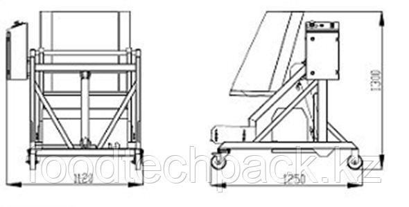 Гидравлическое устройство для подъёма и опрокидывания  30.0011.1002