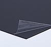 Черный листовой пластик PVC 2 мм