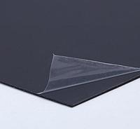 Черный листовой пластик PVC 2 мм, фото 1