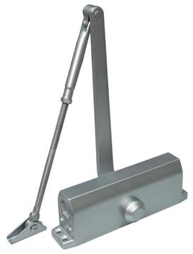 Доводчик Smartec ST-DC036BC-SL, до 120 кг, серебро