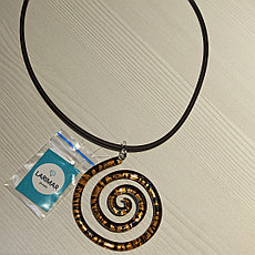 """Колье """" Spiralle """" из муранского стекла"""