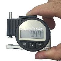 Карманный цифровой Толщиномер мини цифровой штангенциркуль датчик микрометр 0-10 мм 0.01 мм