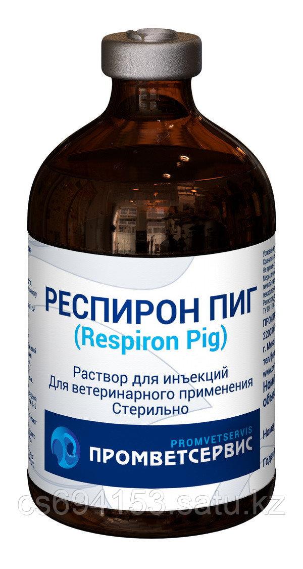 Респирон Пиг: Комплексный антибактериальный препарат широкого спектра действия