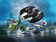 LEGO Super Heroes 76120 Бэткрыло Бэтмена и ограбление Загадочника, конструктор ЛЕГО