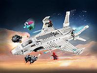 LEGO Super Heroes 76130 Реактивный самолет Старка и атака дрона, конструктор ЛЕГО