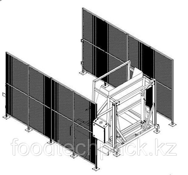 Гидравлическое устройство для подъема и опрокидывания 30.1113.1805