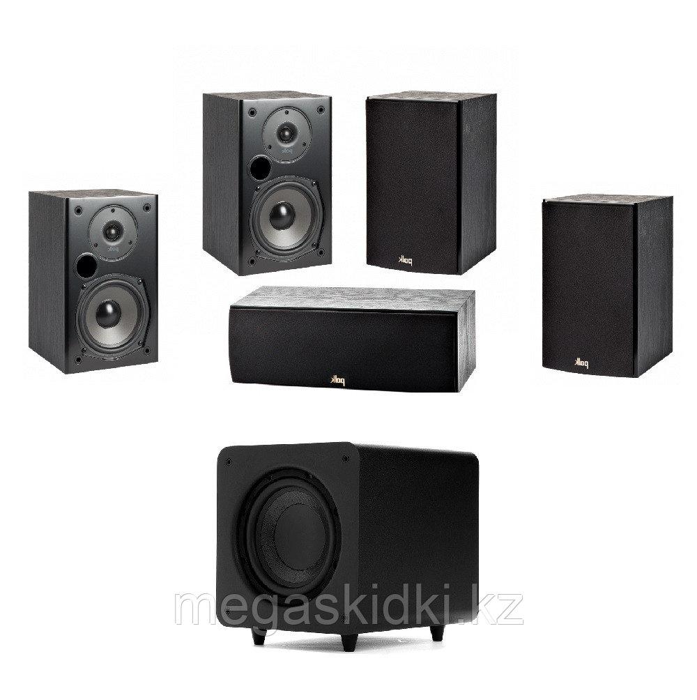 Комплект для домашнего кинотеатра 5.1 на акустике Polk Audio T series 2