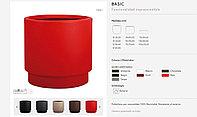 Кашпо с автополивом модель Basic - Красный (HobbyFlower -Испания)