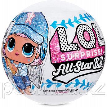 Кукла LOL Surprise - Блестящая Кукла ЛОЛ Сюрприз, Звезды Бейсбола All Star B.B.s (Оригинал)