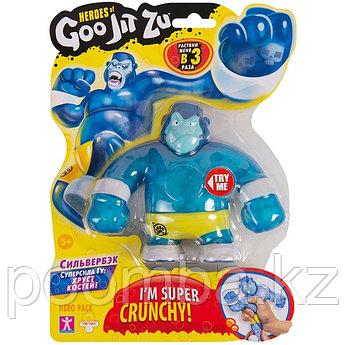 Игрушка-фигурка тянущаяся GooJitZu Гуджитсу Сильвербэк