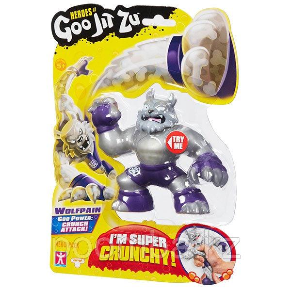 Игрушка-фигурка тянущаяся GooJitZu Гуджитсу Вулфпейн