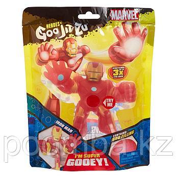 Игрушка-фигурка тянущаяся GooJitZu Гуджитсу Железный человек