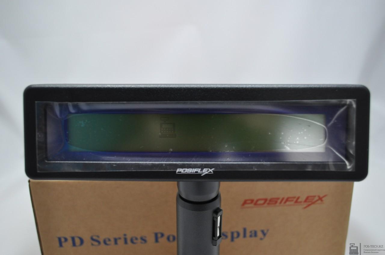 Дисплей покупателя Posiflex PD-320UE-B черный 2*20 симв. для PC, USB арт. 29049