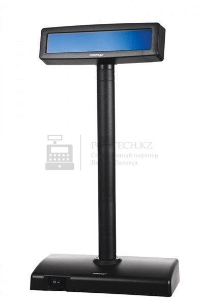 Дисплей покупателя Posiflex PD-2600R-B черный с блоком питания, RS-232, арт. 17262