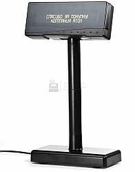 Дисплей покупателя АТОЛ ZQ-VFD2300 RS черный, зеленый светофильтр