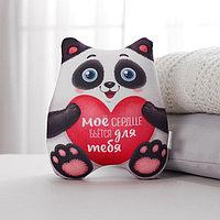 Игрушка-антистресс «Моё сердце бьется для тебя», панда