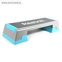 Степ-платформа Reebok step, цвет серый