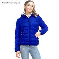 Куртка женская, размер 46, цвет синий