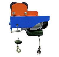 Таль  электрическая с тележкой РА 220В  0,250/0,500 г/п,т  12/6 Н,м, фото 1