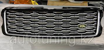 Решетка радиатора на Range Rover Vogue 2013-2017 г. (дорестайлинг) дизайн 2020 г.