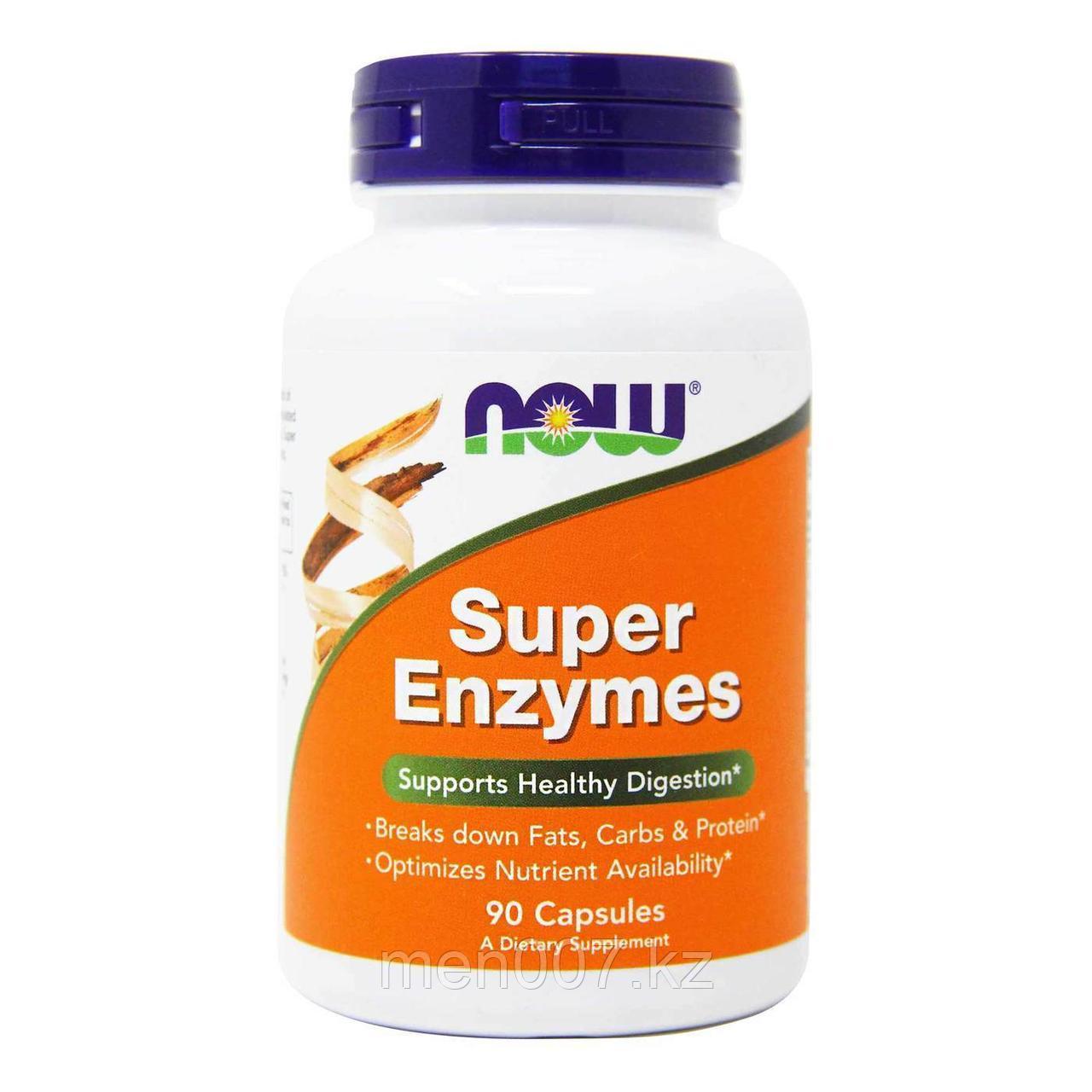 БАД Super Enzymes (Супер Энзимы) (90 капсул)