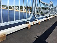 Поручень концевой для мостовых ограждений ПК цинк