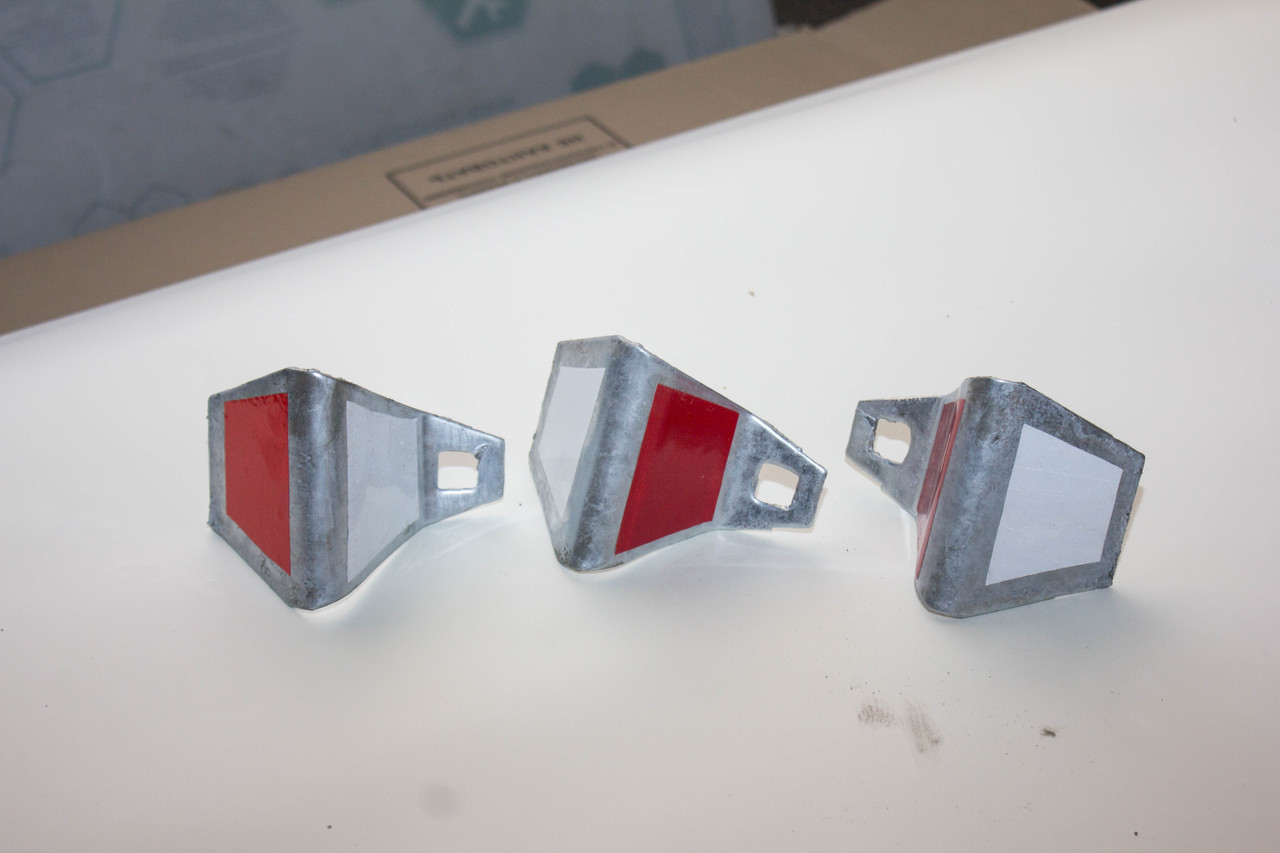 Элемент световозвращающий ЭС КД4-1 грунт