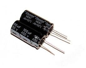 Конденсатор 450 В 100 мкФ