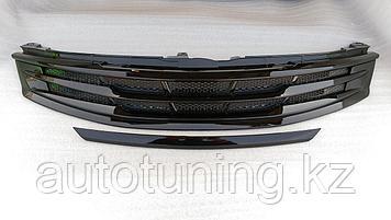 Решетка радиатора Modellista Black на Toyota Camry 55 2014-2018