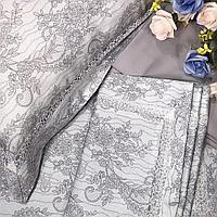Комплект постельного белья двуспальный Victoria's Secret Cатин Deluxe с мережкой