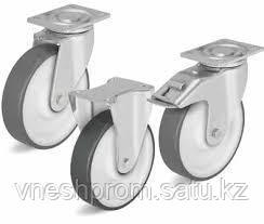 Ролики из листовой стали, для нагрузок средней тяжести, колесо с термопластичным полиуретановым слоем