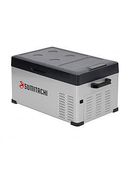 Холодильник компрессорный автомобильный SUMITACHI C25 12В/24В и переменный ток 100-240В