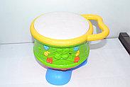 6302 Музыкальный обучающий  барабан Youlen светится  23*18см, фото 3